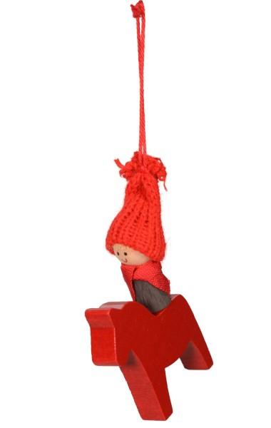 Santa Boy Christbaumhänger