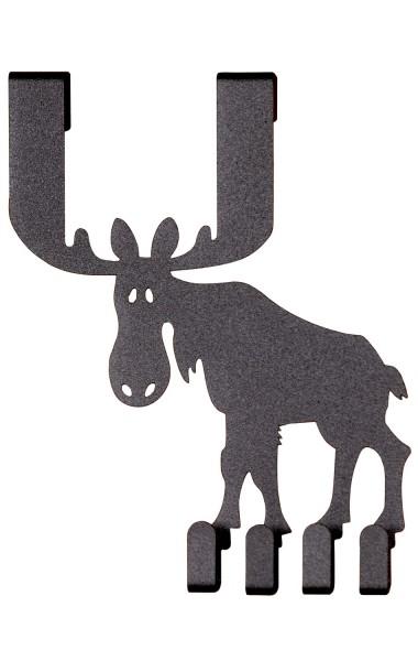 Türhänger Moose Elch mit 4 Haken