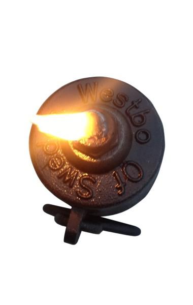 Westbo Öllampe Gusseisen